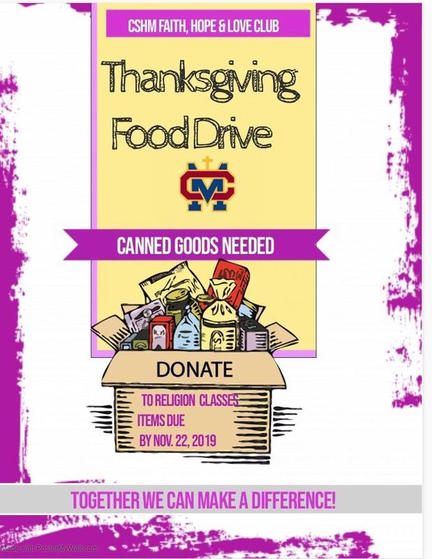 Canned Food Drive Thumbnail Image