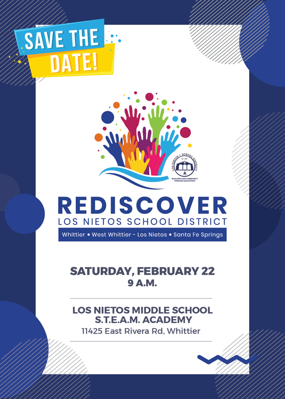 Save the Date: Rediscover Los Nietos School District Featured Photo