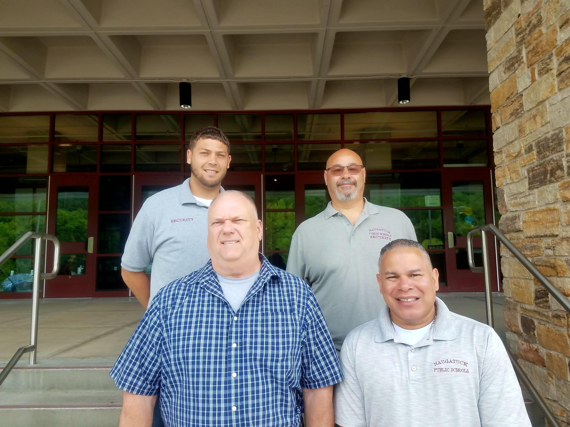 Naugatuck High School security staff