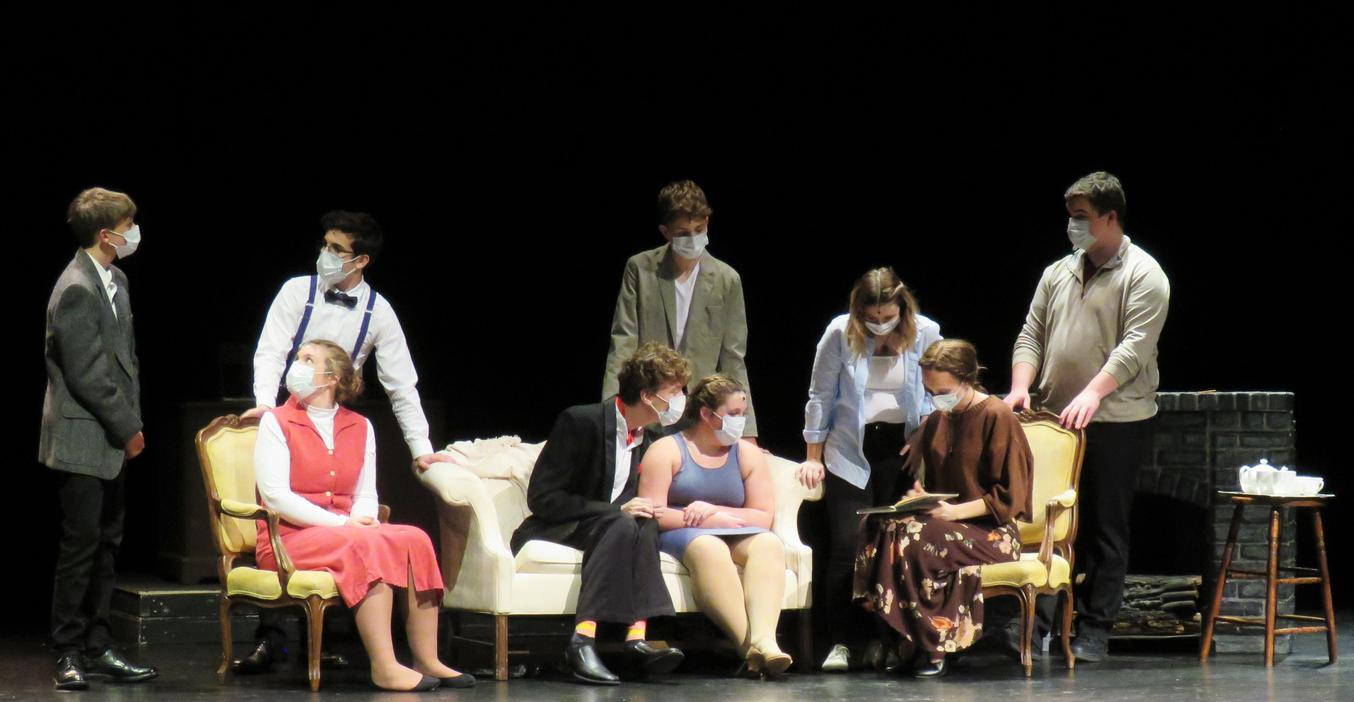 TKHS students perform their fall play