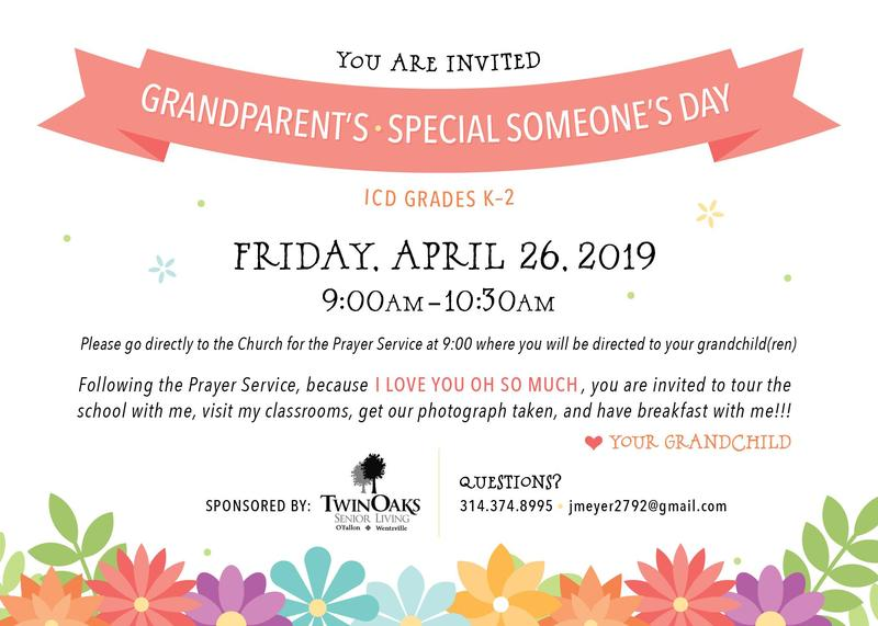 Grandparent's / Special Someone's Day Featured Photo
