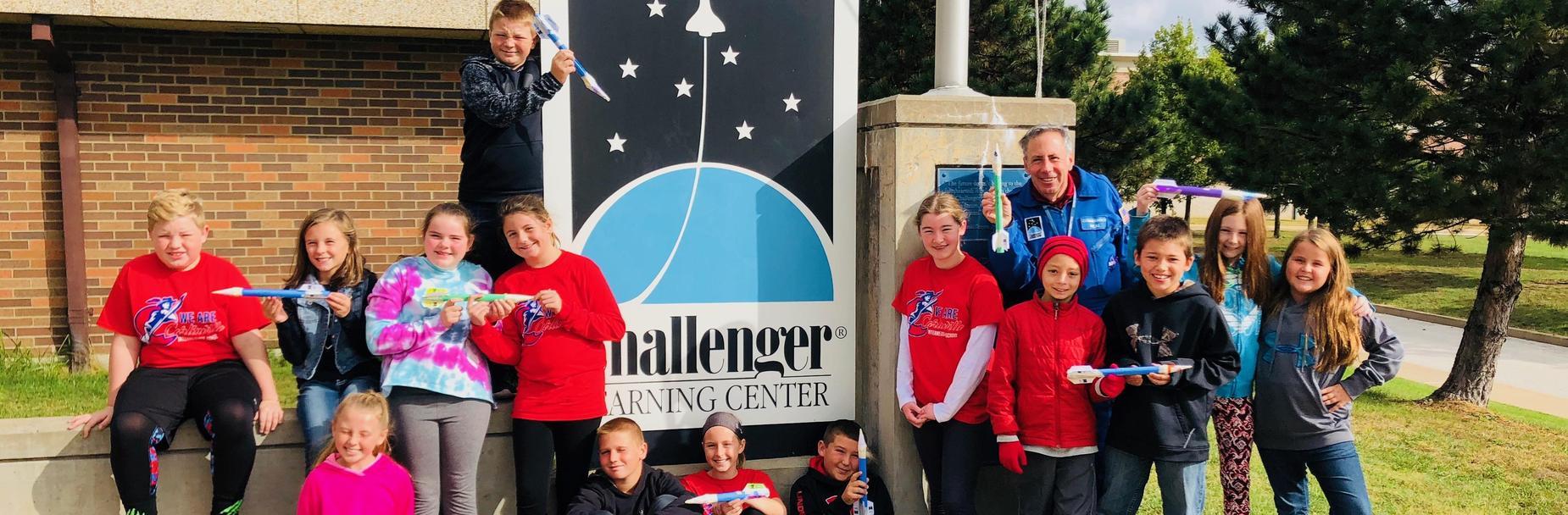 5th Grade Challenger Field Trip