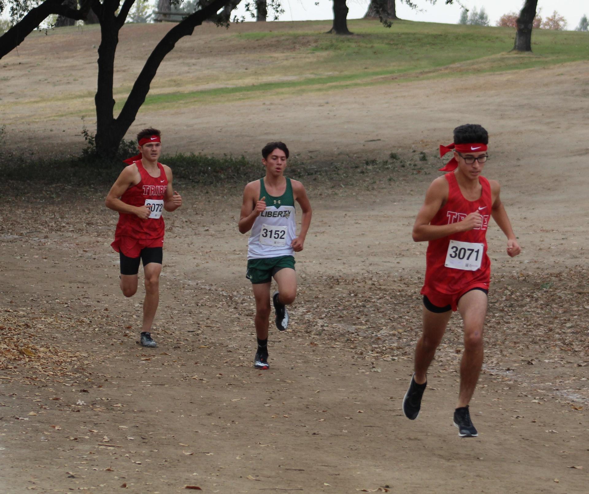 Ryan Diaz and Andrew Castaneda  racing at woodward park