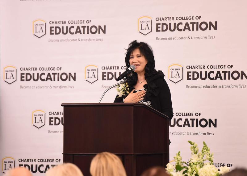 Superintendent Anita Chu recognized at CalStateLA Distinguished Educators Award Dinner Thumbnail Image