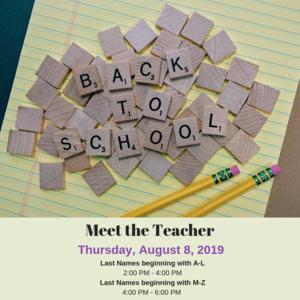 meet the teacher image