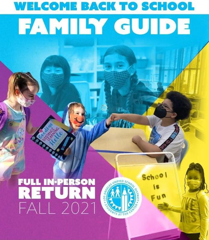 Welcome Back to School - Family Guide!/Bienvenidos de Regreso a la Escuela - Guía de Familias! Thumbnail Image