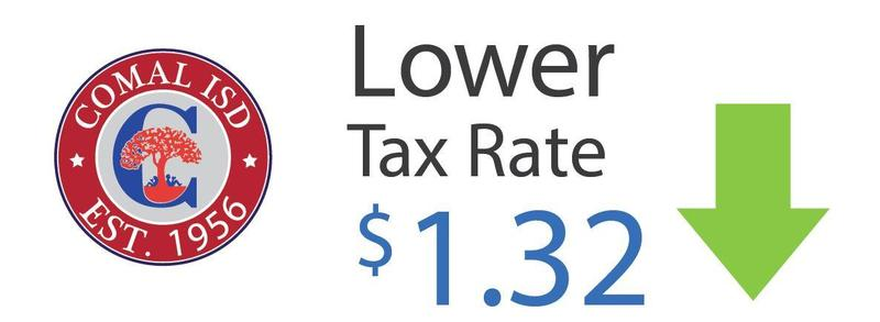 Tax rate lowered to $1.32