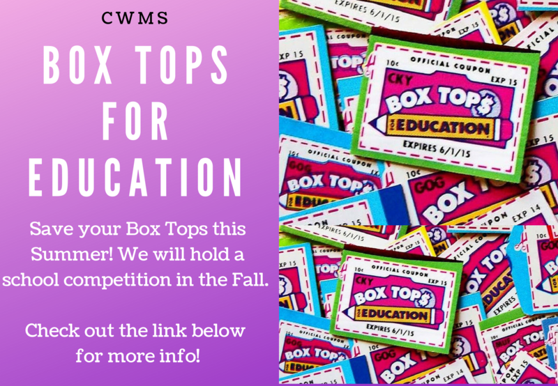 Collect Box Tops this Summer! New Info