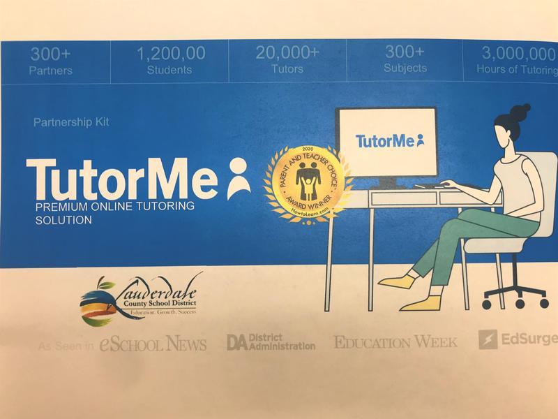 LCSD TutorMe Graphic