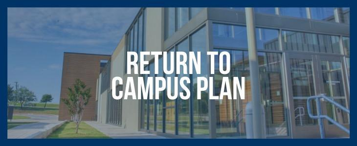 Students are able to return to campus in a hybrid model on April 27! Featured Photo