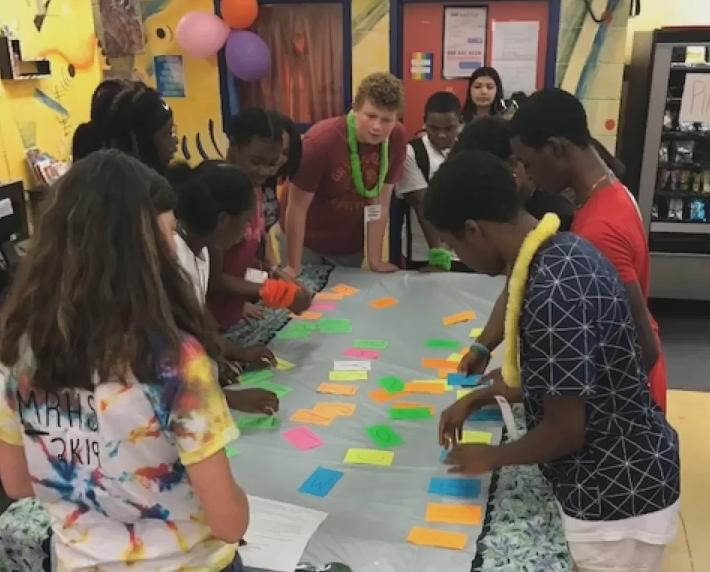 Summer Peer Leaders