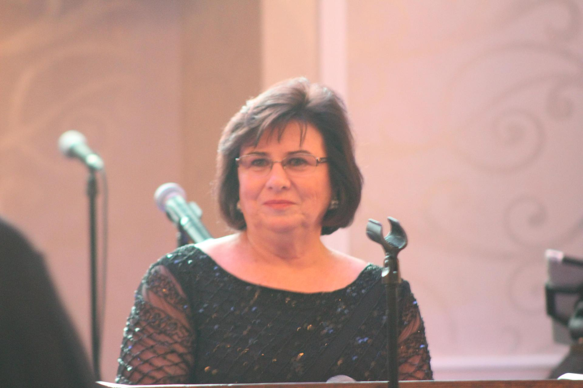 Mary Scairrillo at the 2018 Gala.