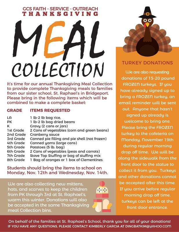 Thanksgiving Meal Collection November Extended to Thursday, 11/15 Thumbnail Image