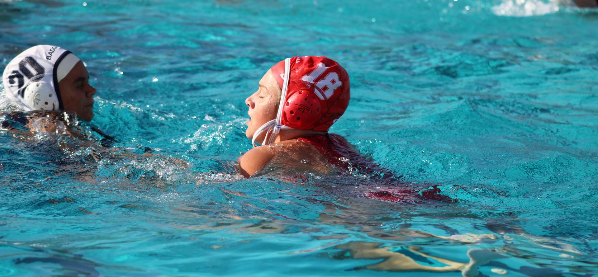 Varsity Girls Water Polo Game Against Yosemite