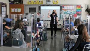 Edison 6th grade French teacher leads class in sharing a family recipe for a Virtual Recipe Book, as part of Cultural Diversity Day on May 21. Students and teachers in each subject participated in learning experiences designed to develop an understanding of diverse cultures and identities.