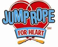 picture of a heart with wording on it Jump rope for Heart