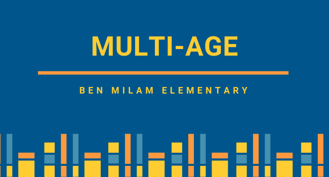 Multi-Age Page, Ben Milam Elementary