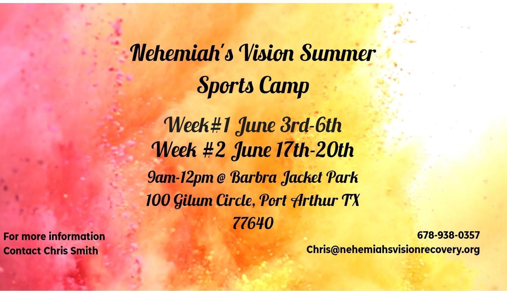 Nehemiah's Vision Camp