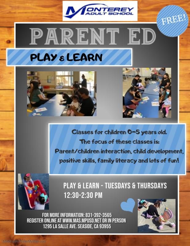 Parent Ed Classes Featured Photo