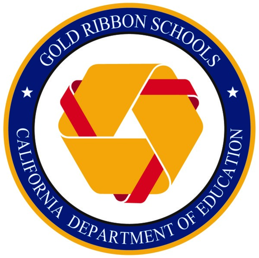 Logo for Gold Ribbons Schools
