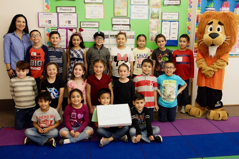 Congratulations to Mrs. Hernandez's 1st Grade Class for Earning 100% Attendance for the Month of January 2019!!  Way to go!! Thumbnail Image