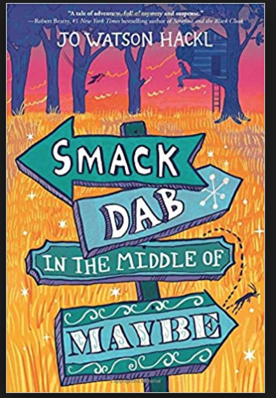 Book Cover Smack Dab in the the Middle of Maybe