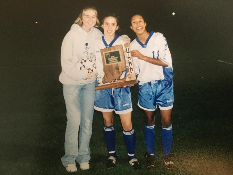 """Bethany's """"cool older kids"""" encourage the next generation of soccer players Featured Photo"""