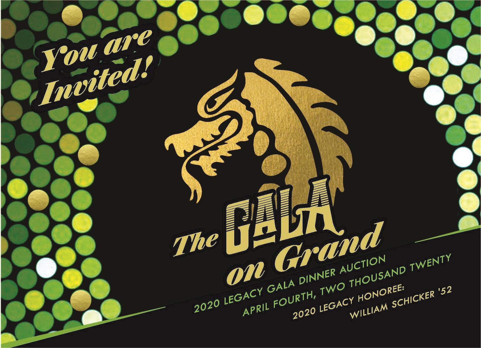 You are invited to the 2020 Legacy Gala Dinner Auction!