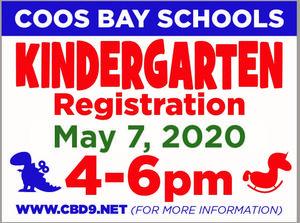 Kindergarten Registration May 7, 2020