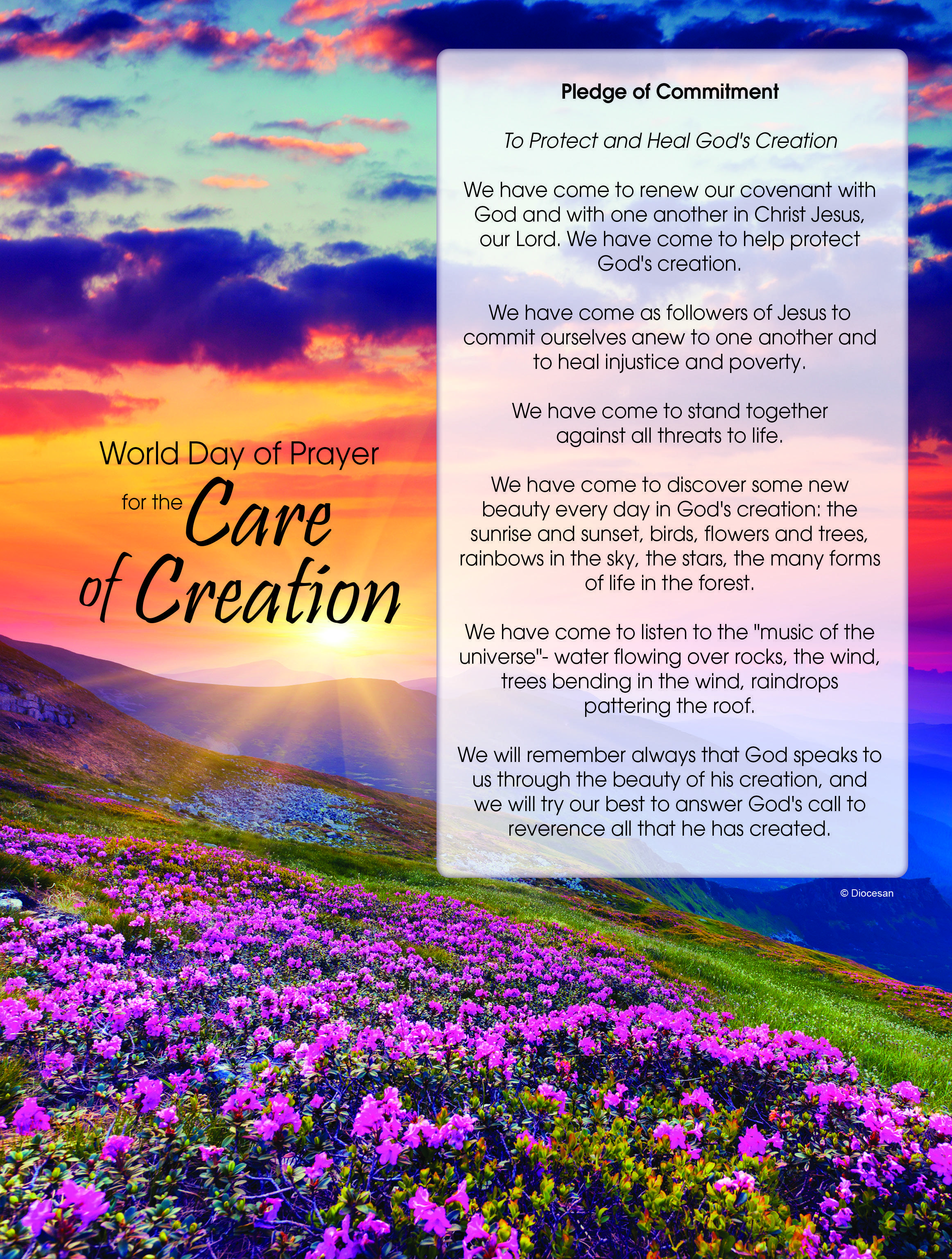 Day of Prayer for the Care of Creation Image