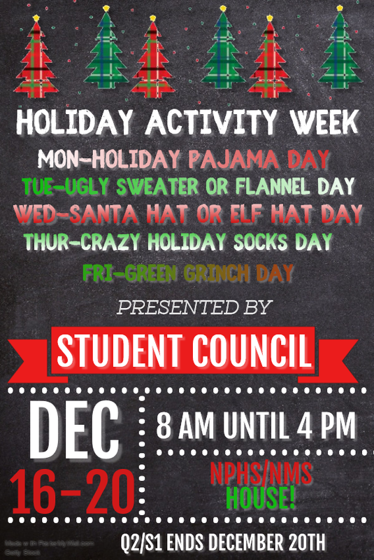 Holiday Activity Week Featured Photo