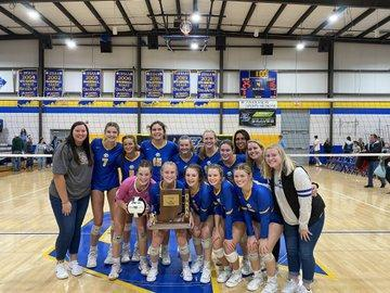 Volleyball Wins Sectional Championship! Featured Photo