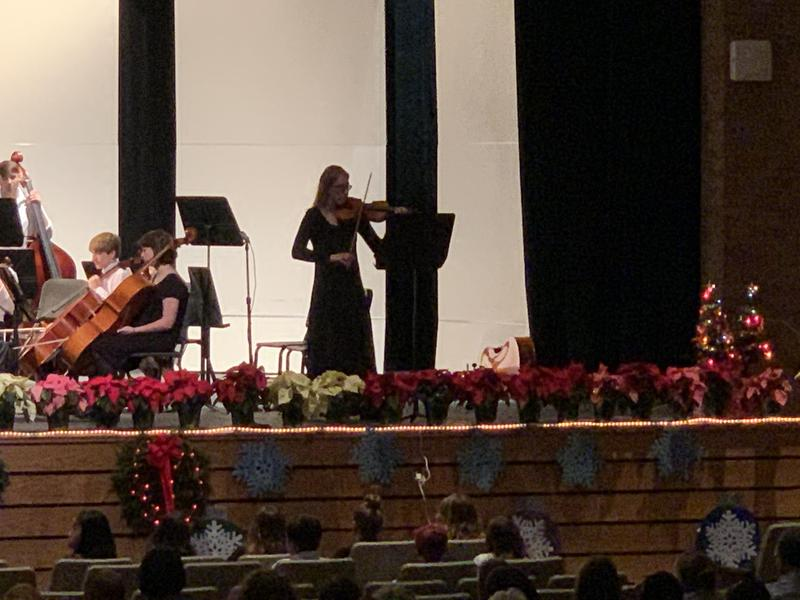 pic from KMS Orchestra Concert