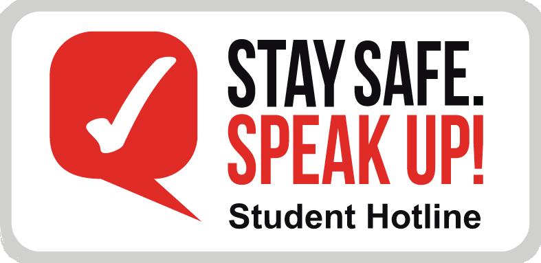 Stay Safe. Speak Up!