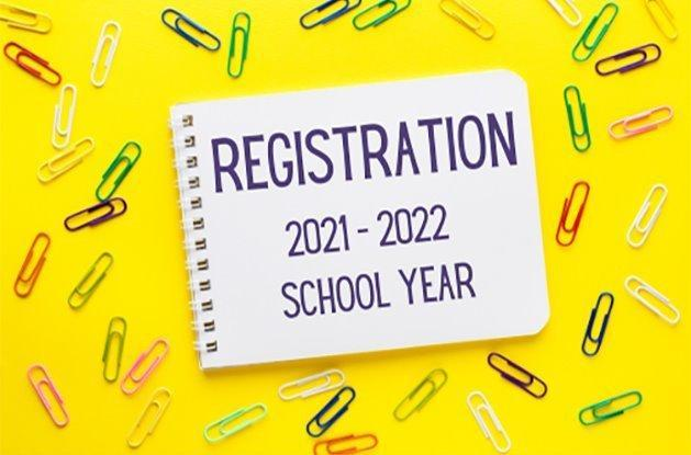 2021-2022 Online Registration Opens Thursday, July 22 for New and Returning Students Thumbnail Image