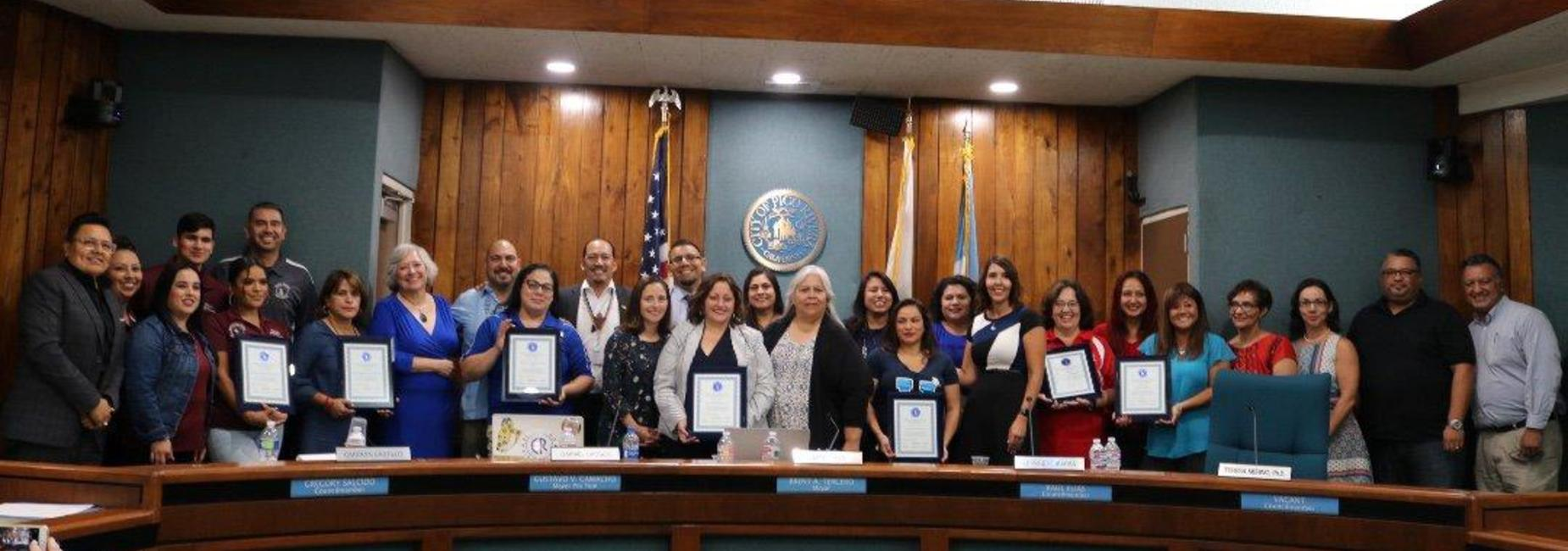 Board Recognition for PBIS