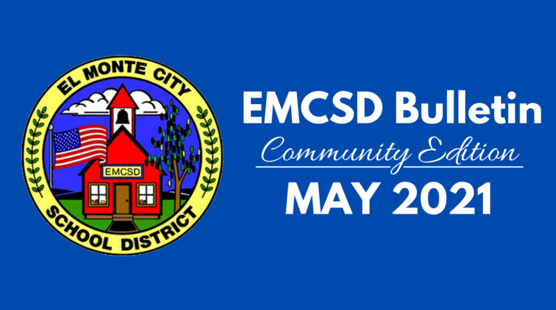 Graphic: EMCSD Bulletin, Community Edition for May 2021