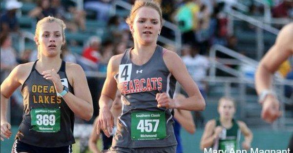 Congratulations Kelsey Harrington!  State Champion in the 1600m & 3200m