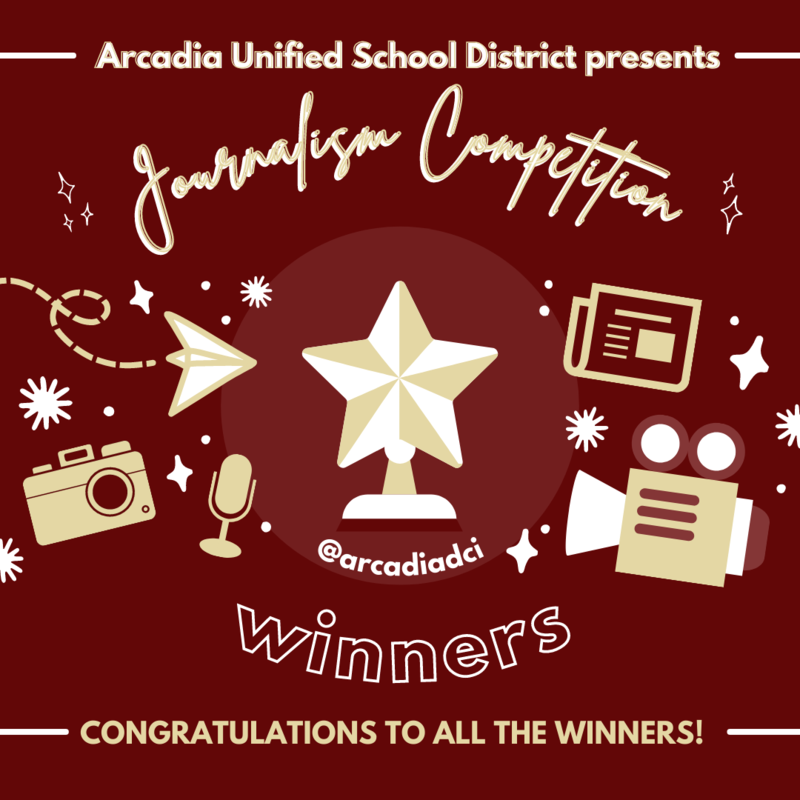 AUSD DCI Journalism Competition Winners Spring 2021