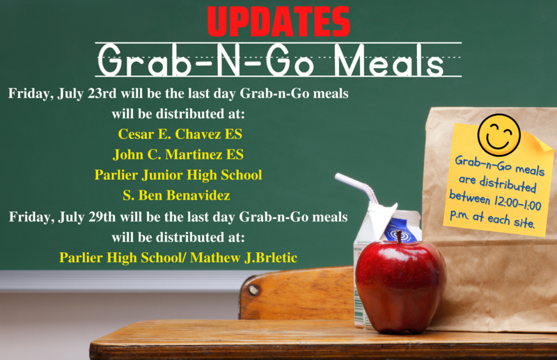 Grab-n-Go Meal Updates Featured Photo