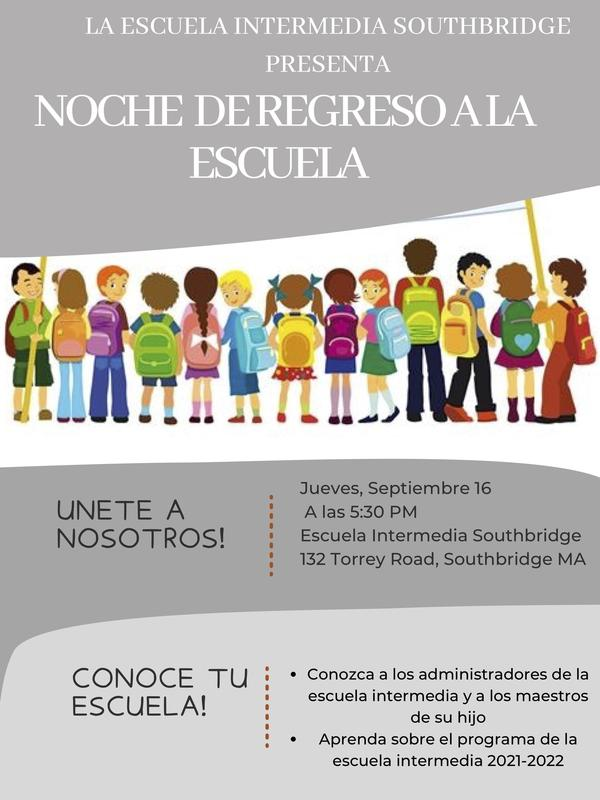 Flyer in Spanish about Open House event. All wording in the flyer is also in the body of the post.