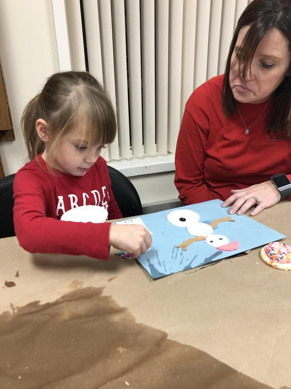 PreK families attend fun night