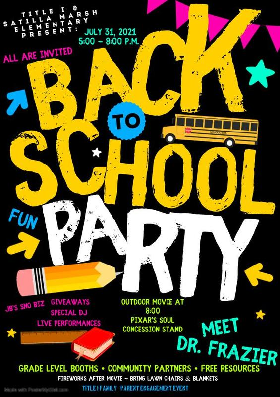 Back to School Party! Featured Photo