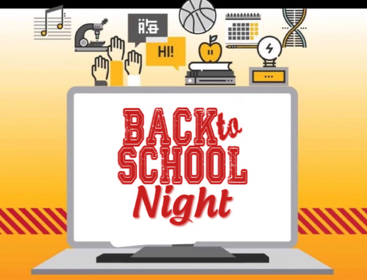 Back to School night on Computer Screen