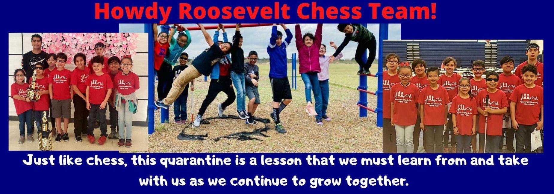 Howdy Roosevelt Chess Team
