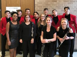 COHS All-Region band members