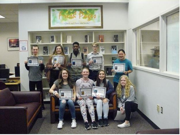 DECEMBER STUDENTS OF THE MONTH Thumbnail Image