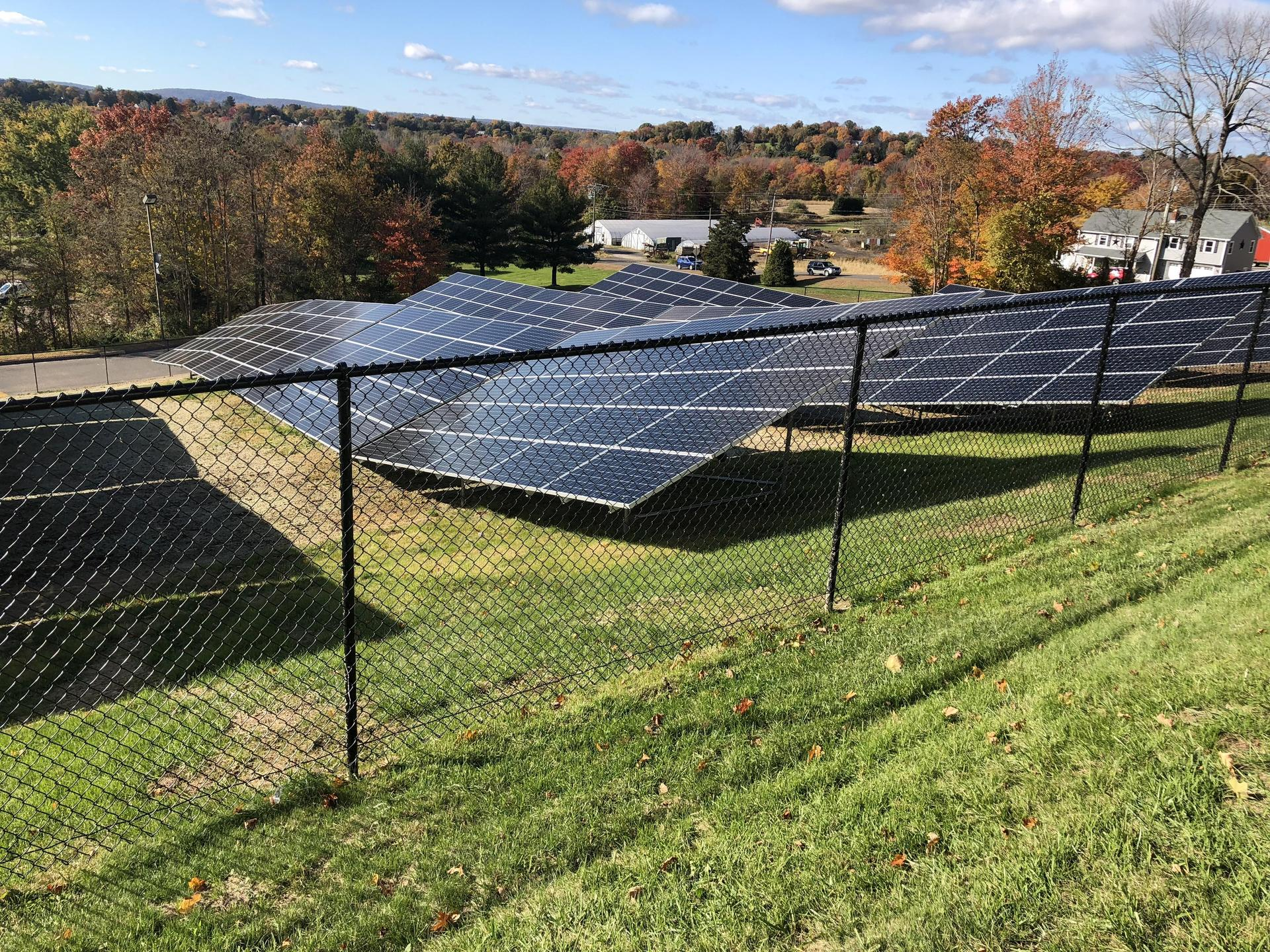 Xavier High School has 1,200 solar panels.
