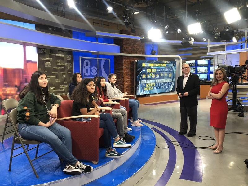 i3 Learn students visit Channel 8 news! Featured Photo