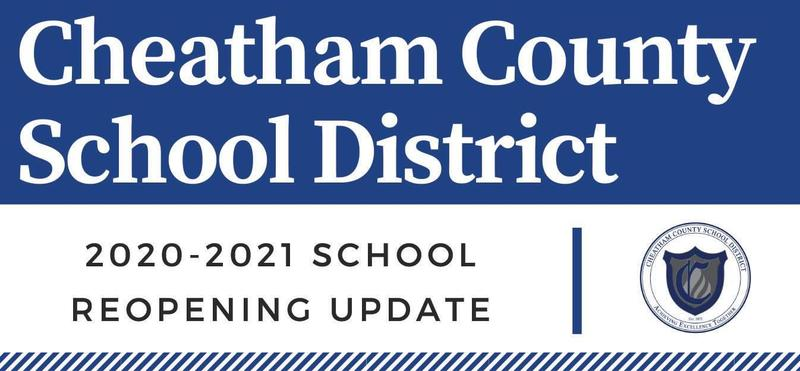 2020-2021 school reopening update